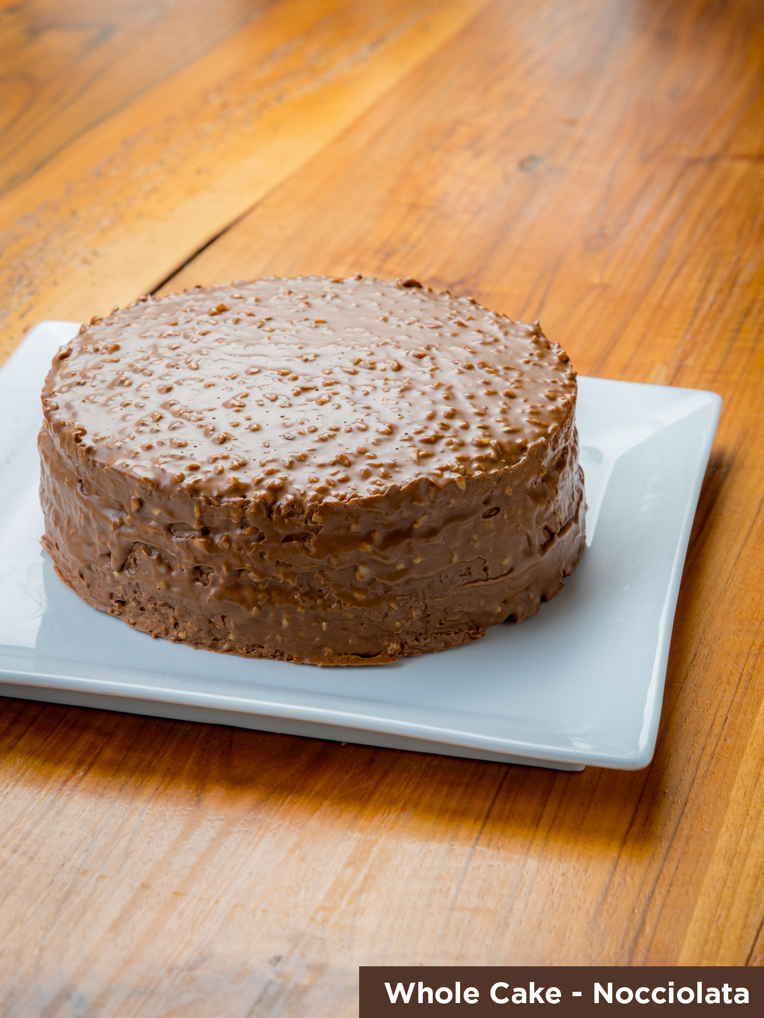 Whole Nocciolata Cake