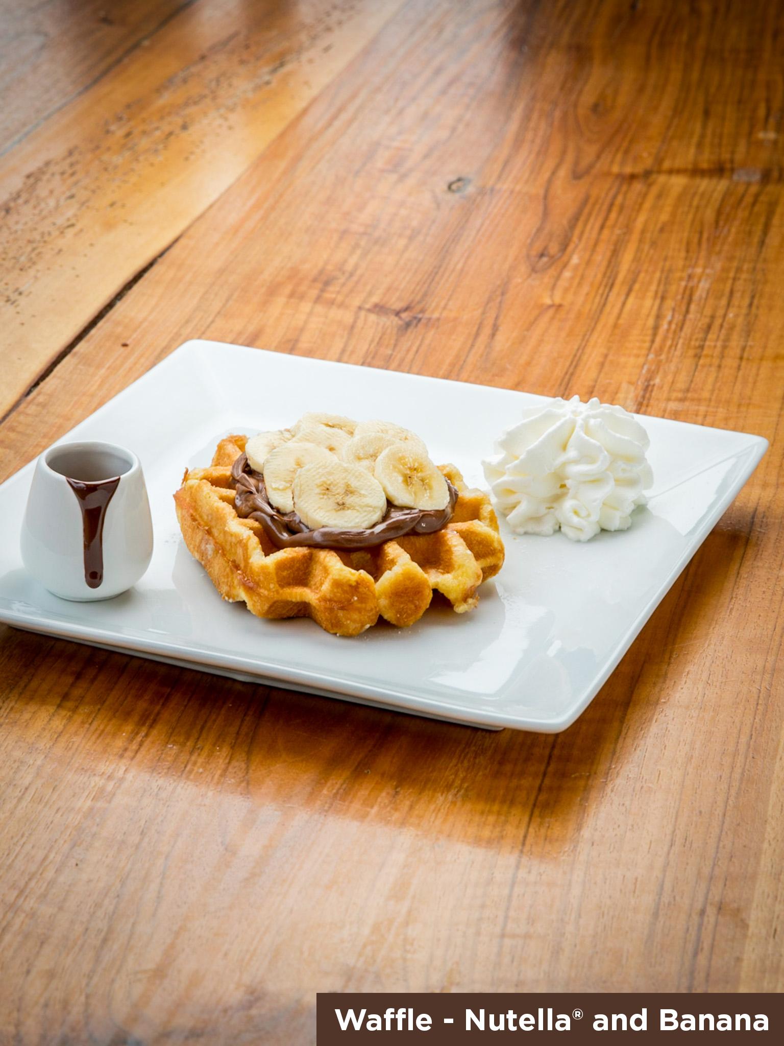 Waffle Nutella & Banana