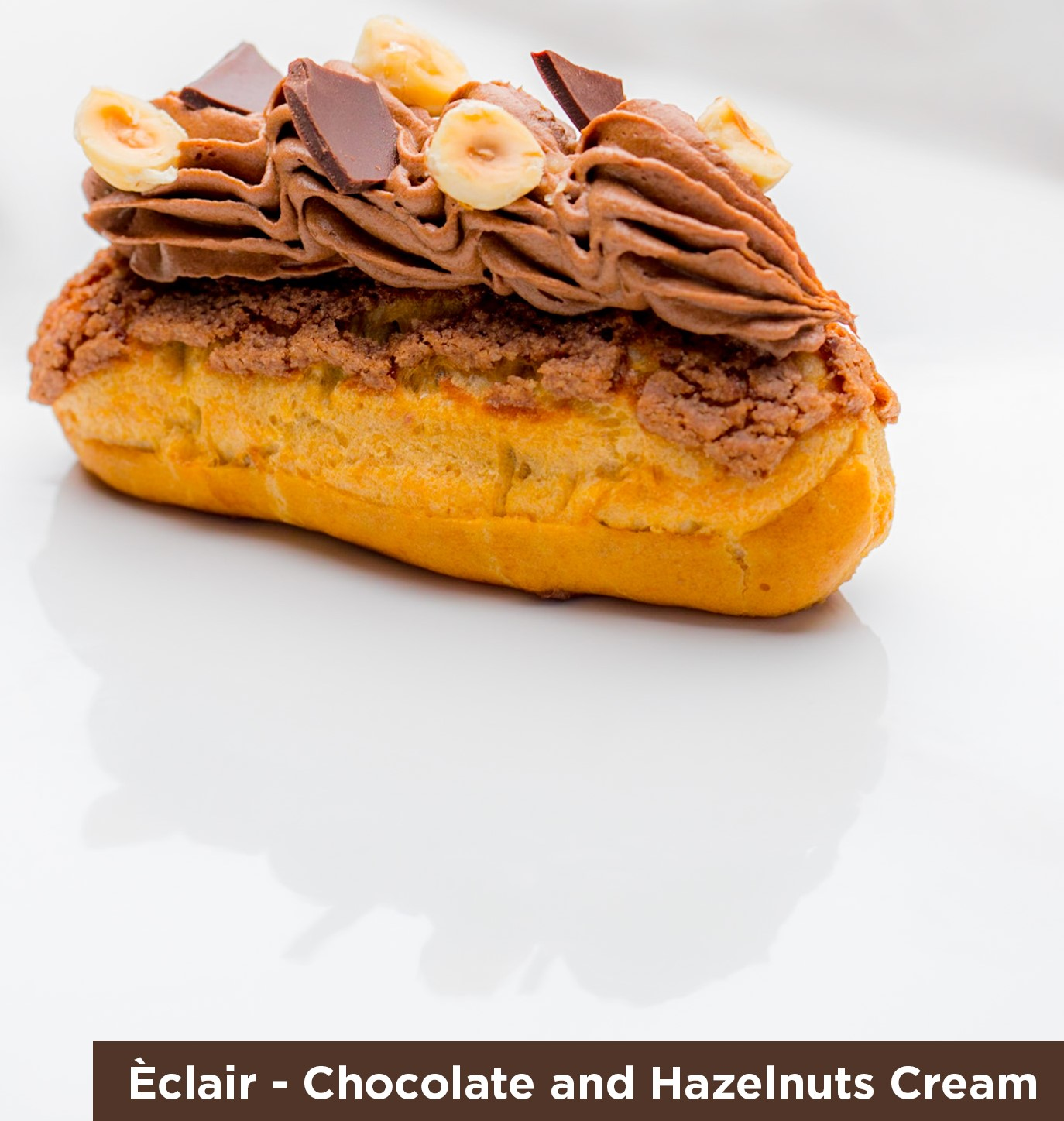 Eclair Chocolate & Hazelnut Cream
