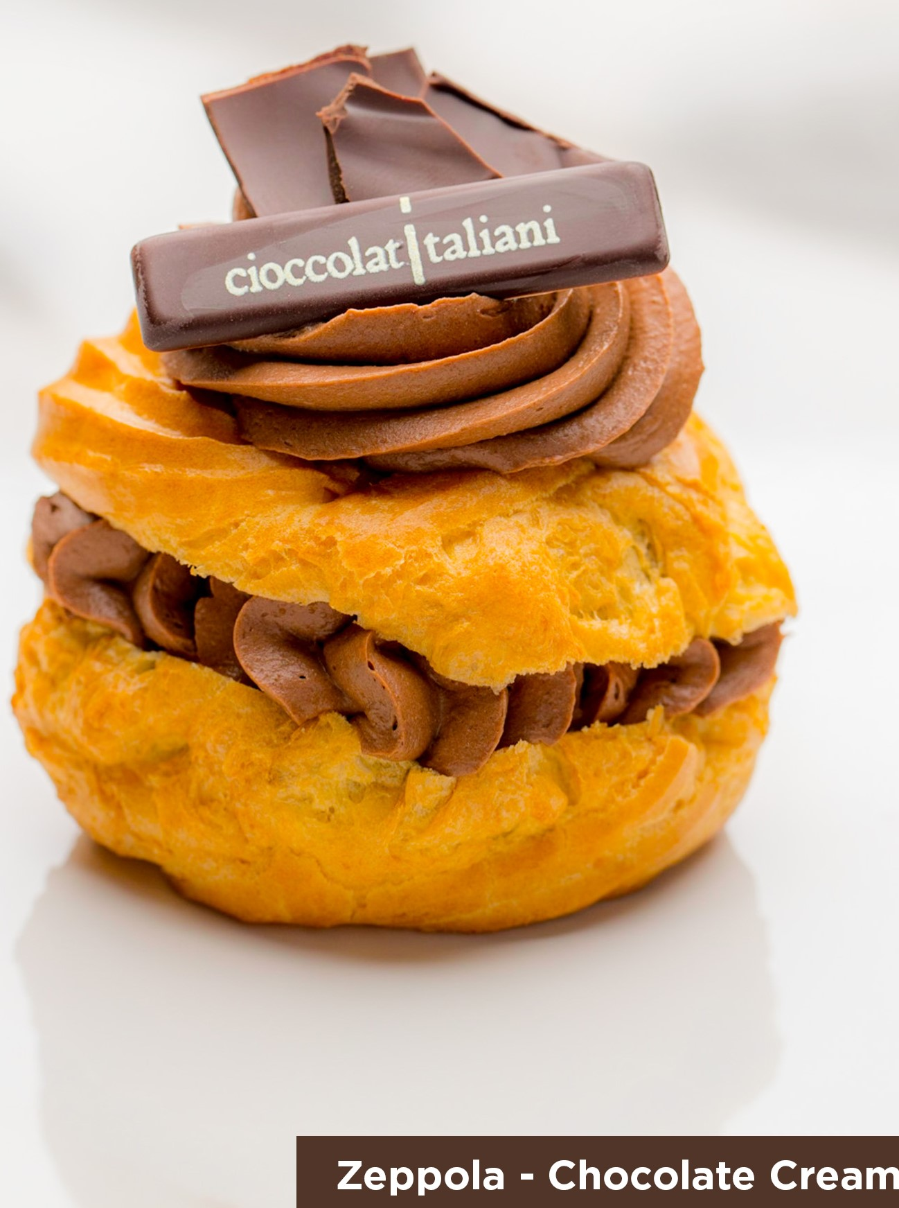 Zeppola Chocolate Cream