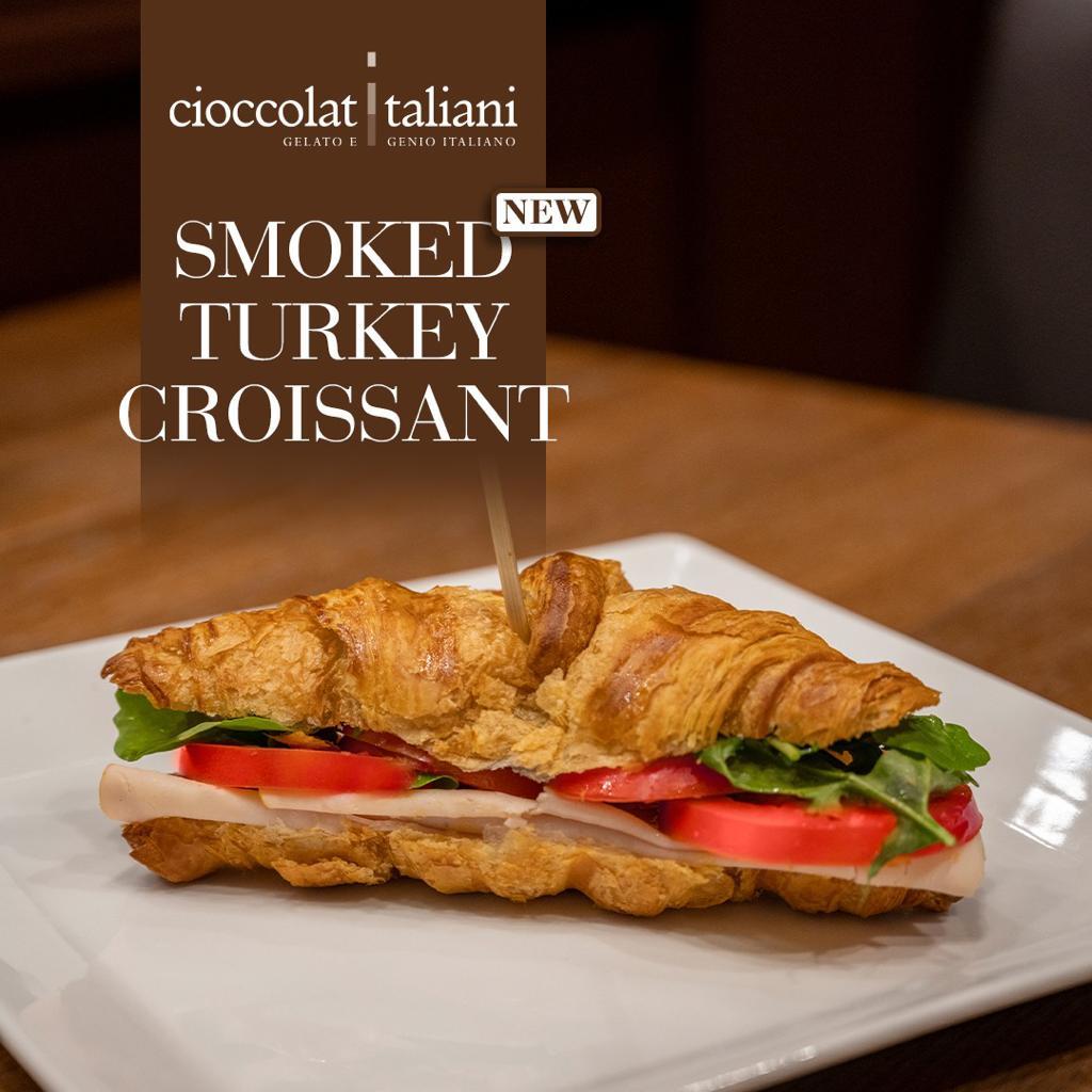 Smoked Turkey Croissant
