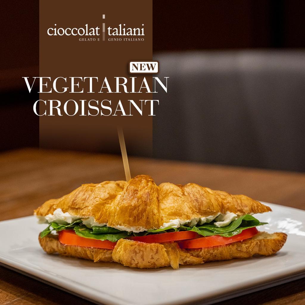 Vegetarian Croissant
